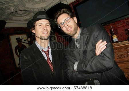 Bret Roberts and James Avallone at the Playback Wrap Party, House of Blues, West Hollywood, CA. 04-04-10
