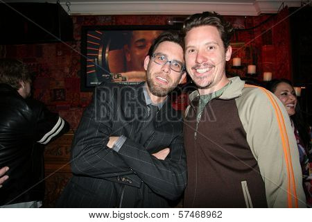 James Avallone and Dylan Reynolds  at the Playback Wrap Party, House of Blues, West Hollywood, CA. 04-04-10