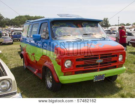 1974 Chevy Scooby Doo Mystery Machine Van