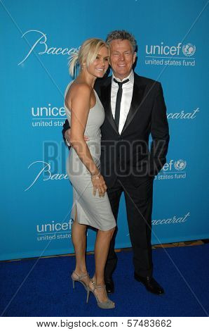 David Foster and Yolanda Hadid at the 2009 UNICEF Ball Honoring Jerry Weintraub, Beverly Wilshire Hotel, Beverly Hills, CA. 12-10-09