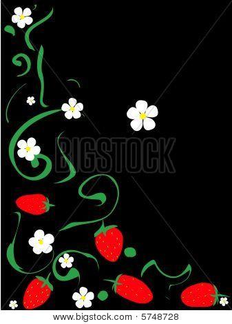 strawberris pattern