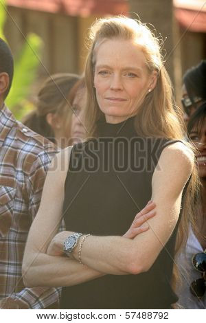 Suzy Amis at the induction ceremony for James Cameron into the Hollywood Walk of Fame, Hollywood Blvd, Hollywood, CA.  12-18-09