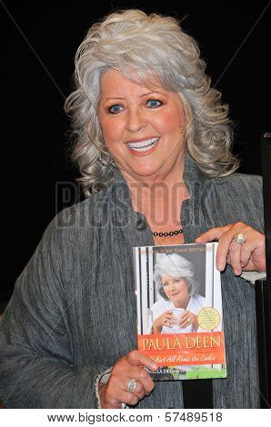 Paula Dean at a personal appearance, Barens & Noble, Glendale, CA.  11-11-09