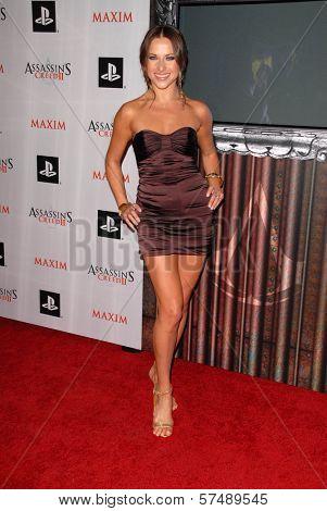 Edyta Sliwinska at the MAXIM magazine and Ubisoft launch of Assassin's Creed II, Voyeur, West Hollywood, CA. 11-11-09