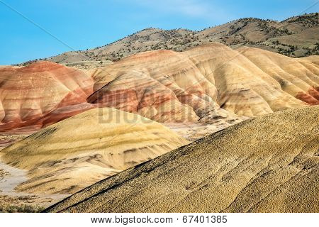 Painted Hills Unit Of John Day Fossil Beds National Monument