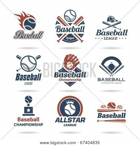 Baseball icon set - 3