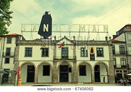 Sandeman Advertising Signboard, Porto, Portugal
