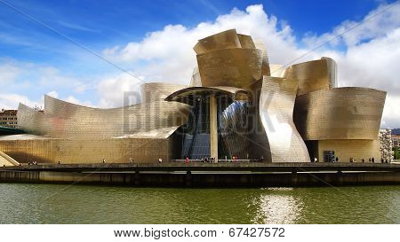 Guggenheim Museum Bilbao.