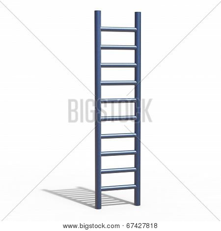 Climb Success Indicates Victorious Ladder And Victors
