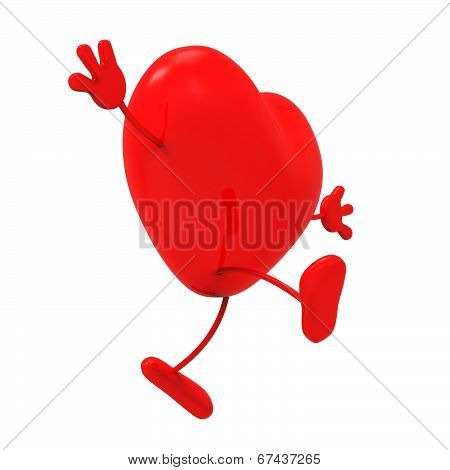 Person Heart Indicates Health Check And Care