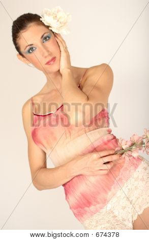 Woman Pink