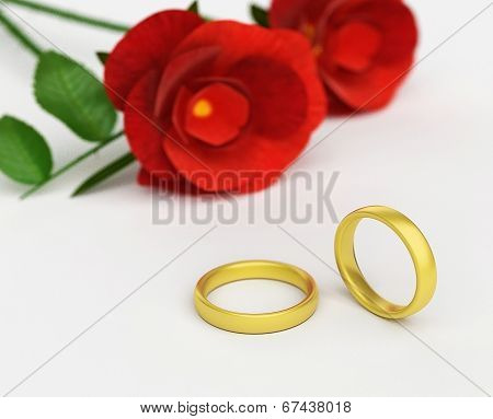 Wedding Rings Means Find Love And Adoration