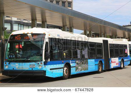 New York City MTA Select bus