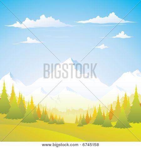 Mountain - Autumn