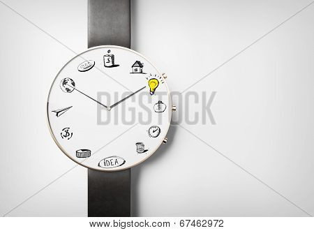 Business watch concept