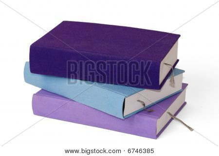 Empty Book Stack