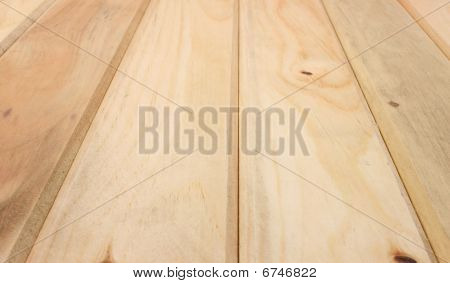 Tongue and groove pine boards