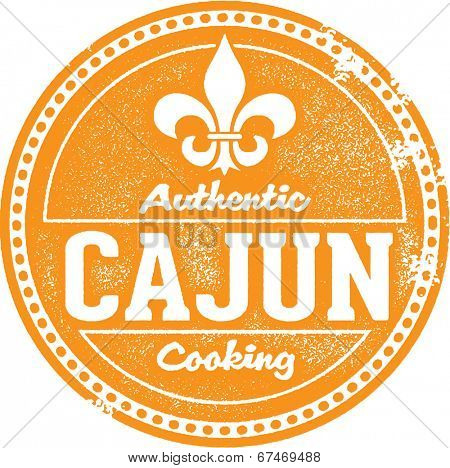 Authentic Cajun Cooking Stamp