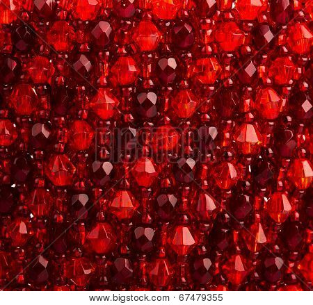 Abstract Colorful Red Background