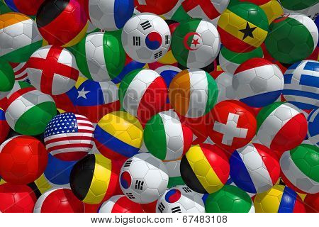 Soccer Balls Bg.
