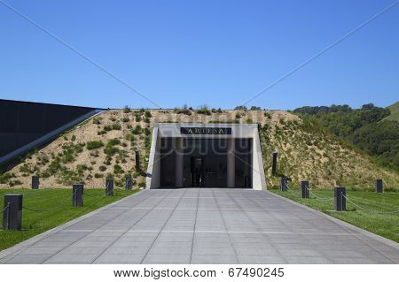 Artesa Winery in Napa Valley, California