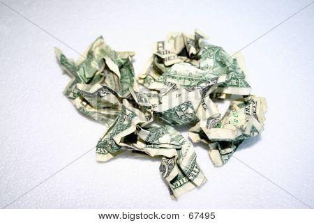 Crumpled Bills - 1