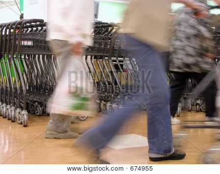 Shopping Abstract