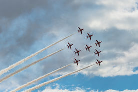 The Red Arrows Air Show