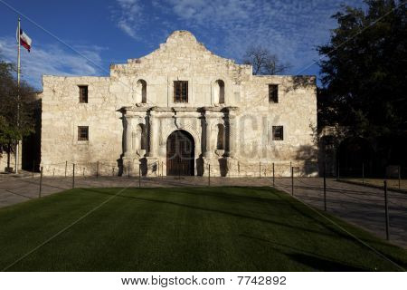 The Historic Alamo Mission In San Antonio Texas