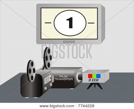 Film To Video Transfer Station
