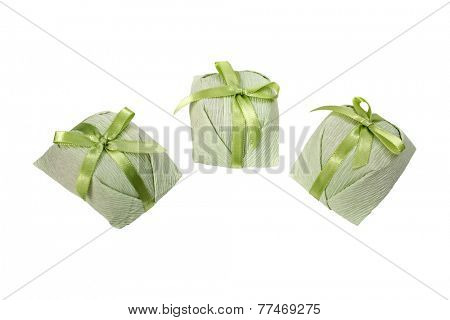 Bem casado - wedding sweet treat isolated on white background