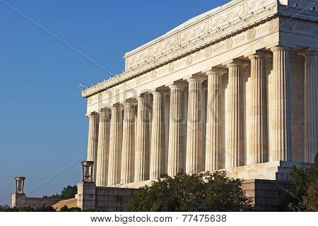 Lincoln Memorial Washington DC.