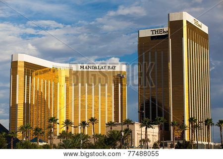 Mandalay Bay casino in Las Vegas
