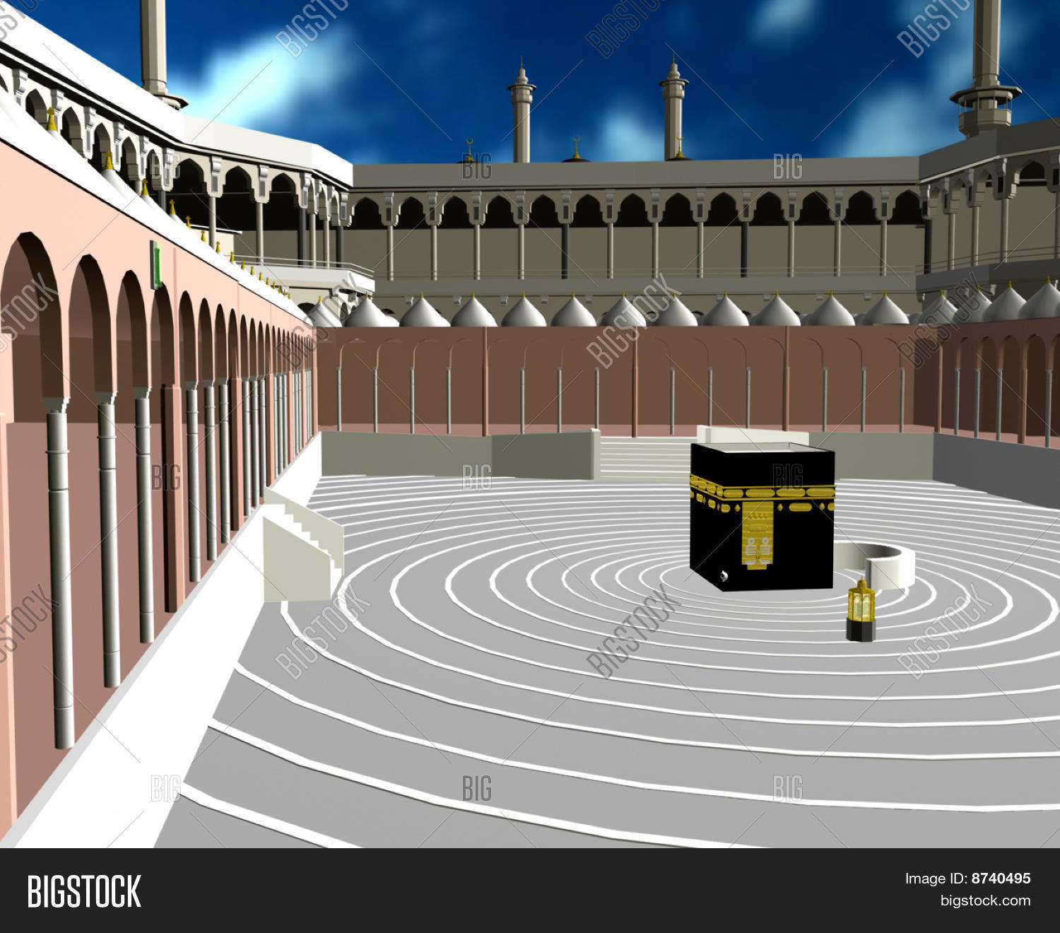 Makkah 3d Image & Photo (Free Trial) | Bigstock
