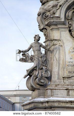 Plague Column. Linz, Austria