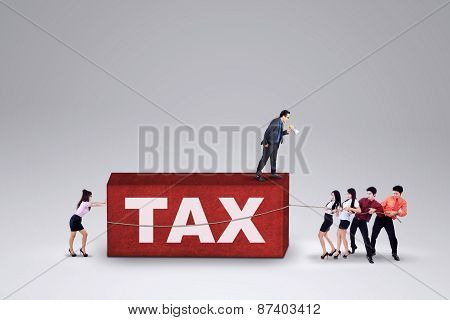 Business Group With A Tax Burden