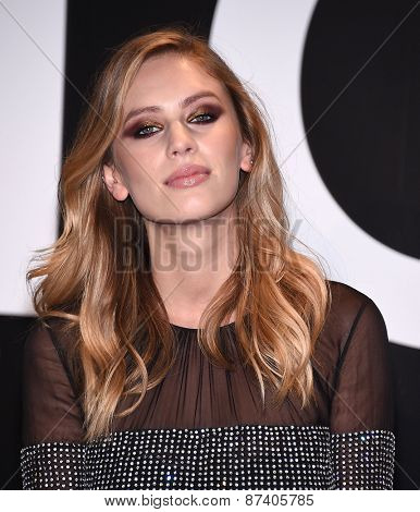 LOS ANGELES - FEB 20:  Dylan Penn arrives to the Tom Ford Autumn/Winter 2015 Womenswear Collection Presentation  on February 20, 2015 in Hollywood, CA