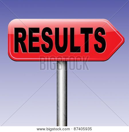 results pop poll or sports result test result business report election results