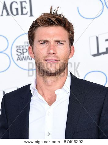 LOS ANGELES - FEB 21:  Scott Eastwood arrives to the 2015 Film Independent Spirit Awards  on February 21, 2015 in Santa Monica, CA
