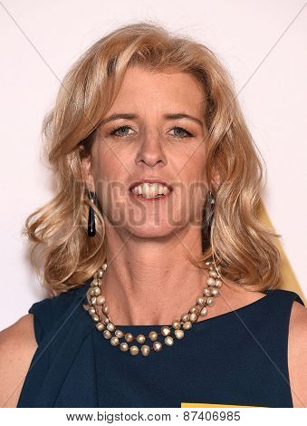 LOS ANGELES - FEB 02:  Rory Kennedy arrives to the Oscar Nominee Reception  on February 2, 2015 in Beverly Hills, CA