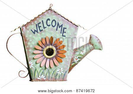 Vintage Welcome Sign