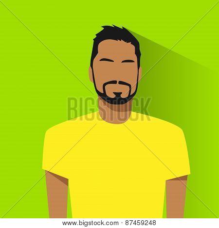 profile icon male hispanic avatar portrait casual