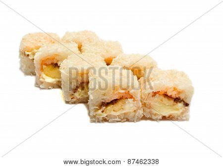 Sweet Sushi With Banana And Cheese