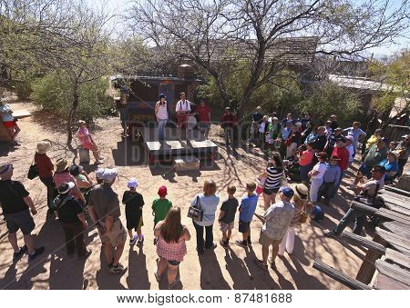 A Medicine Show Of Old Tucson, Tucson, Arizona