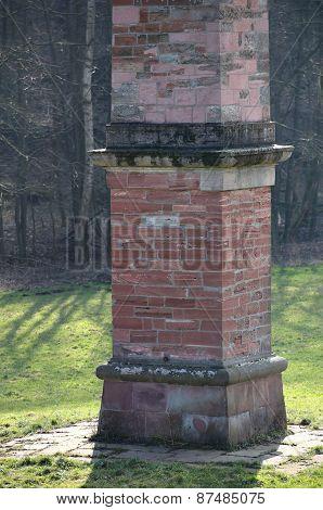 Freestone Obelisk Sommerschloss Blumenstein