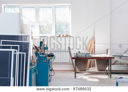 Pvc Window Factory Interrior