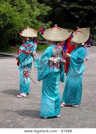 Japanese Women Group