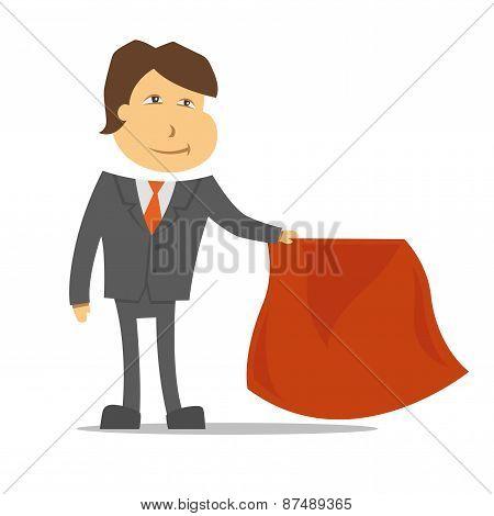 Clerk Toreador White Background