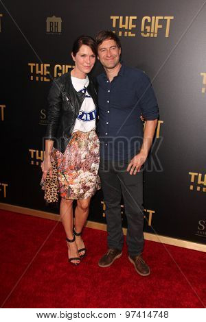 LOS ANGELES - JUL 30:  Katie Aselton, Mark Duplass at the