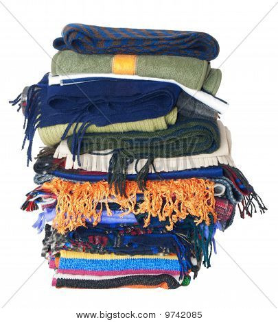 Scarfs Stack | Isolated